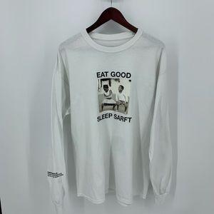 Dark Circle Clothing L/S Graphic Shirt Eat Good XL